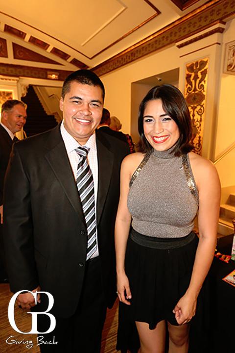 Mario Eguia and Alicia Rubio