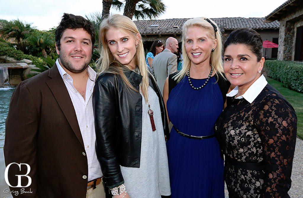 Mario Guerra  Morgan Soule  Maria Delgado and Charo