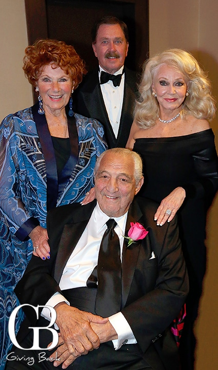 Marion Ross  John and Phyllis Parrish with Salah Hassanein