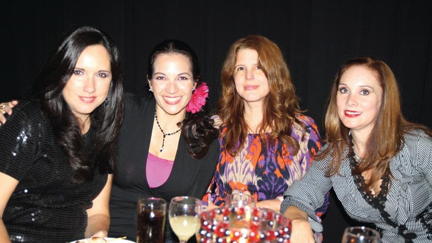 Marissa, Monique, Diana y Perla