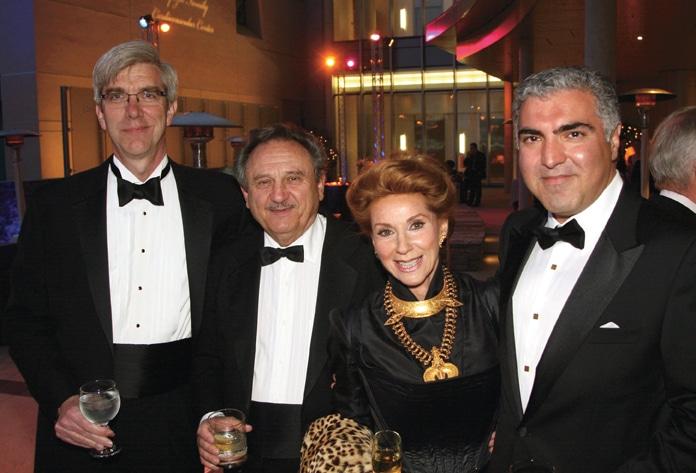 Mark Talamini with Sam and Reena Horowitz and Michael Madani.JPG