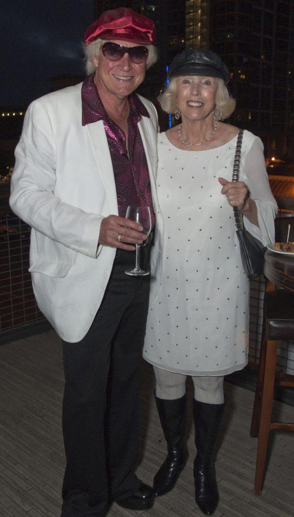 Mark VanRoode and Barbara Riggs
