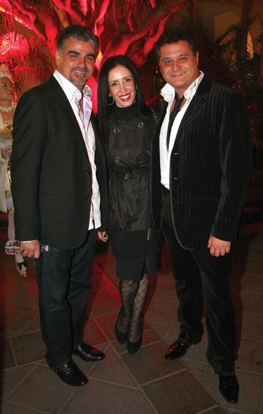 Mark and Mina Kooklani with Ramin Pourteymour.JPG