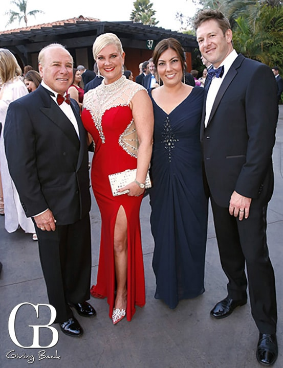 Mark and Angela Krasner with Chez and Justin Kollman