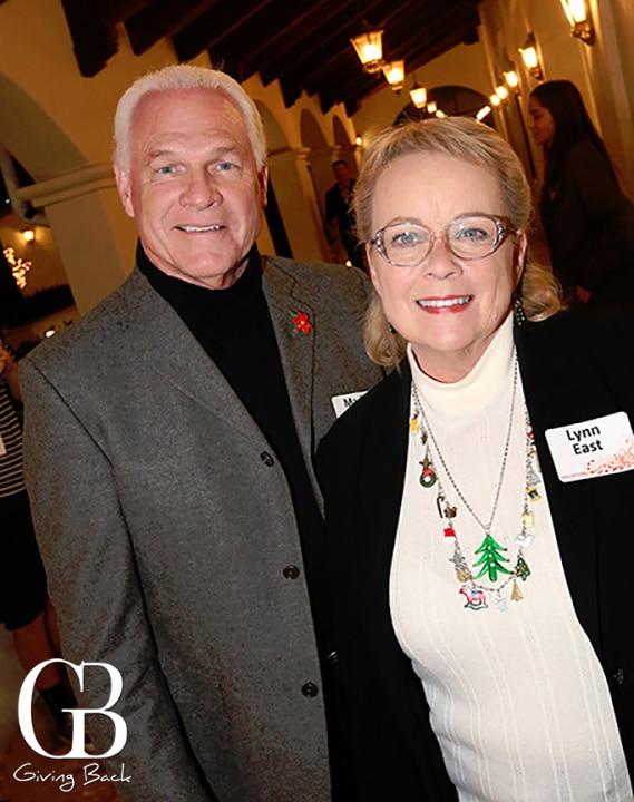 Mark and Lynn East