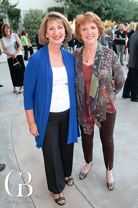 Marsha Lubick and Kathi Lencioni