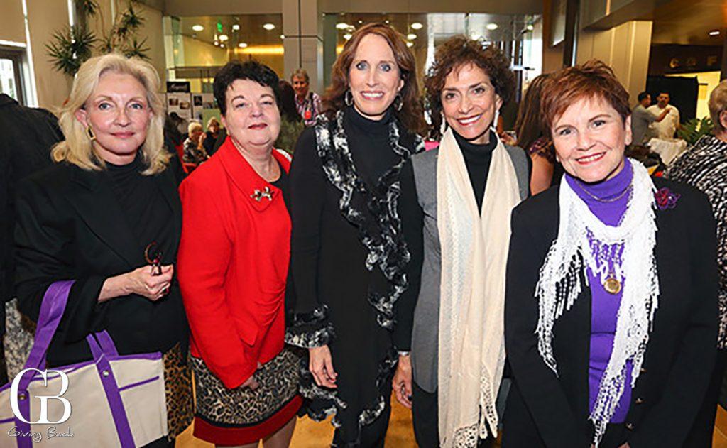 Marsha Sewell  Alexandra Pearson  Nancy Laturno Bojanic  Joyce Gattas and Patti Roscoe