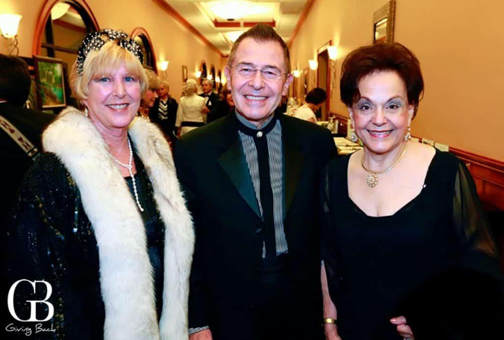 Marsha and Luis Nunez with Carolina Mouritzen