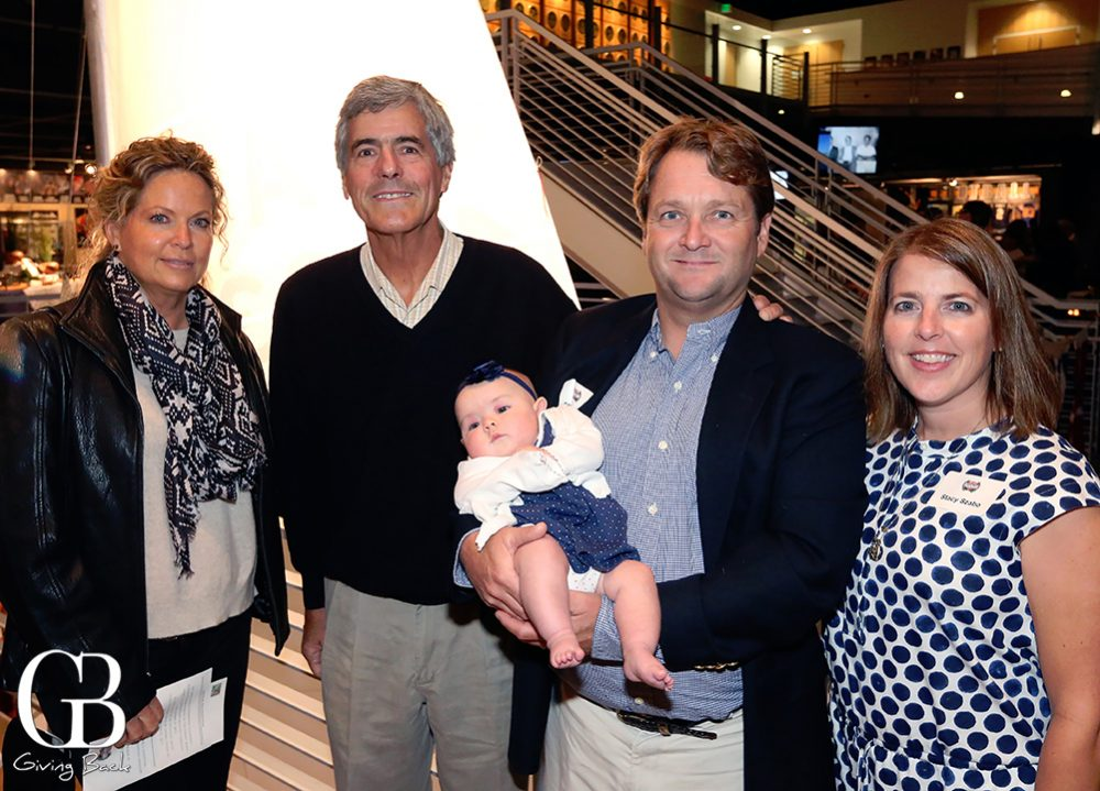 Marsha and Vince Brun with George and Stacey Zabo and Elizabeth