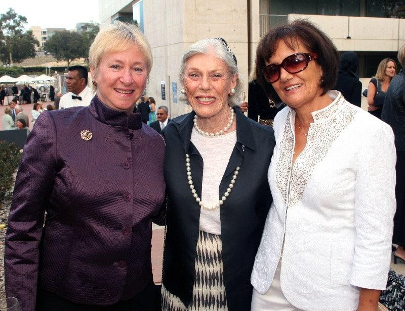 Martha Dennis, Carolyn Yorston  Wellcome and Maria Prokocimer.JPG
