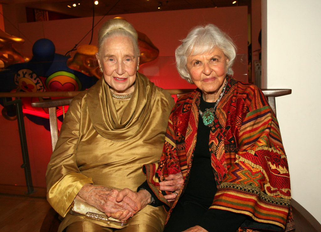 Martha Longanecker and Deborah Szekely.JPG