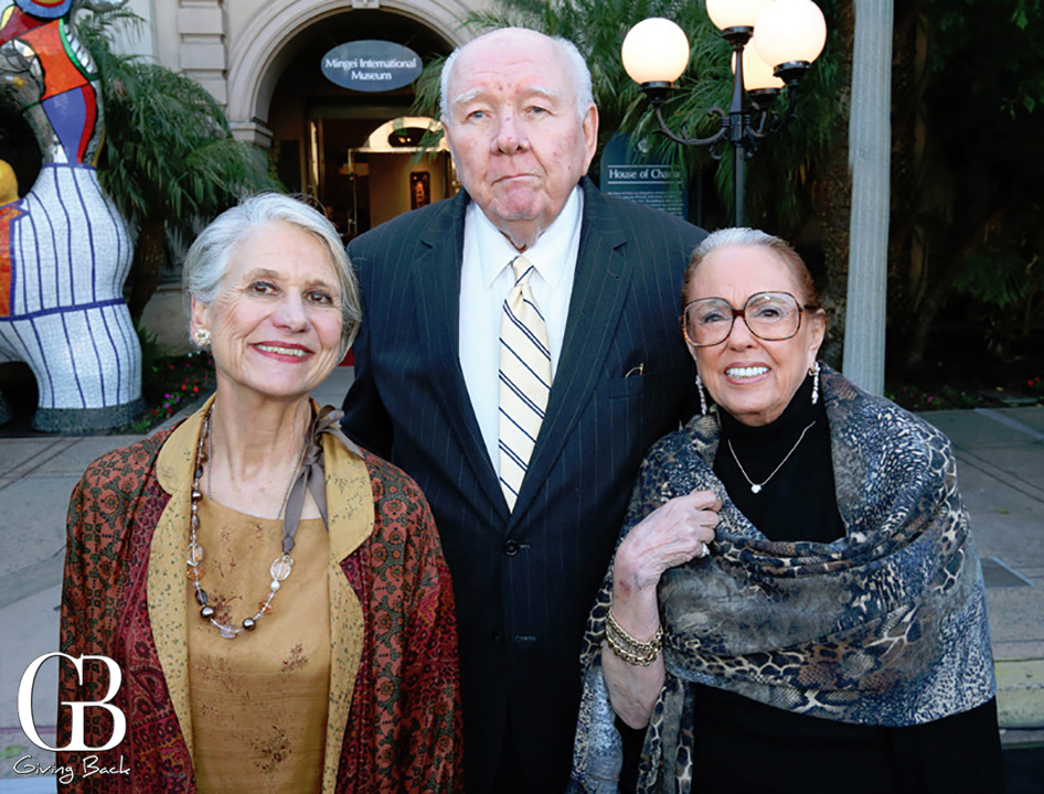 Martha Ehringer with Bob and Pat Whalen