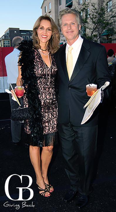 Martha Estrada and Mark Young