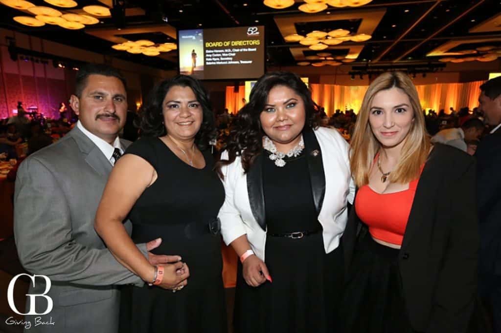 Martin Garza  Yulil Alonso Garza  Juanita Salas and Marylin Carrillo
