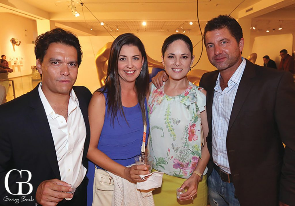 Martin and Cecilia Gonzalez with Judith Medrano and Miguel Angel Guerero