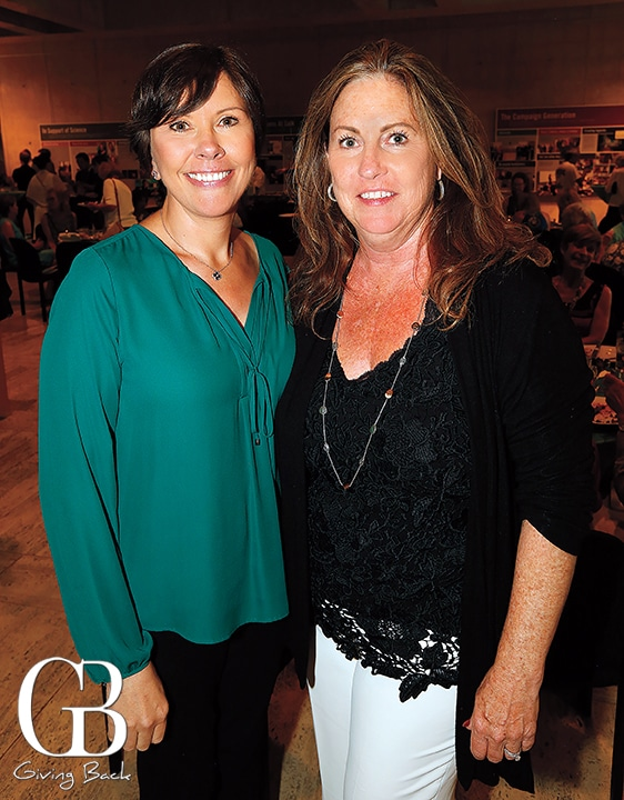 Martina Lewis and Betsy Collins