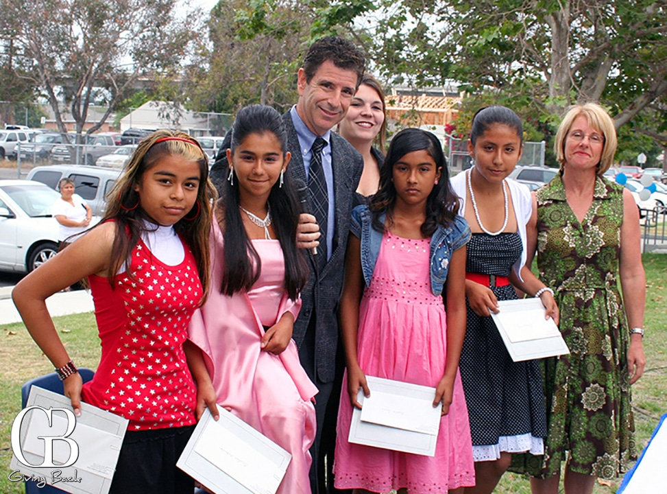 Martinez Awards presented by Douglas Friedman at Emerson Bandini Elementary School