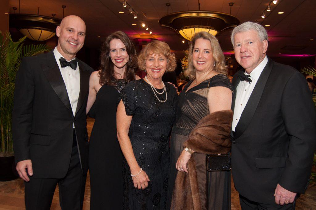 Marty and Blair Davis, Ellen Potter, Teresa and Harry Hixson