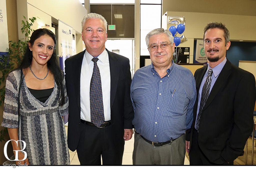 Maru Davila  Scott Parker  Victor Arcos and Tony Barresi