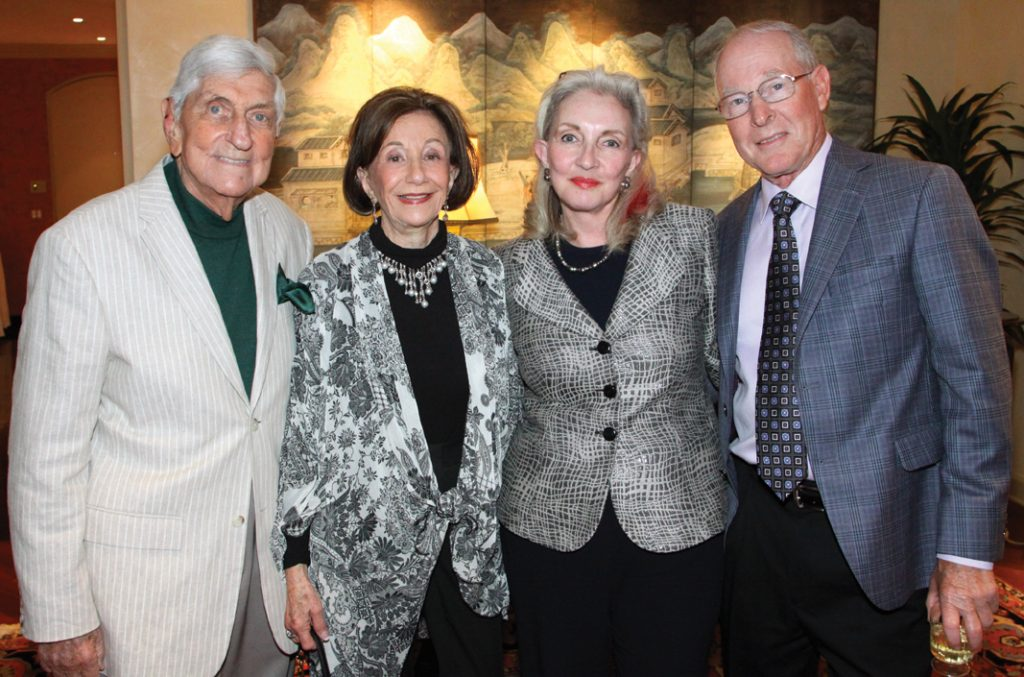 Marvin and Reinette Levine with Marsha Sewell and Bob Maddalena.JPG