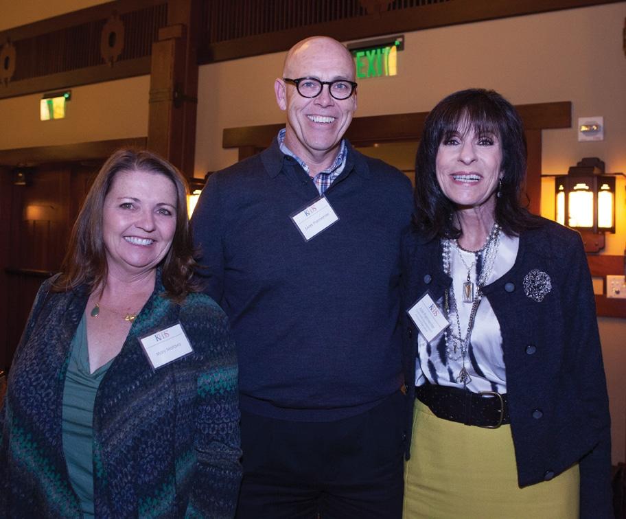 Mary Matava with Mark and Joie Parmentar