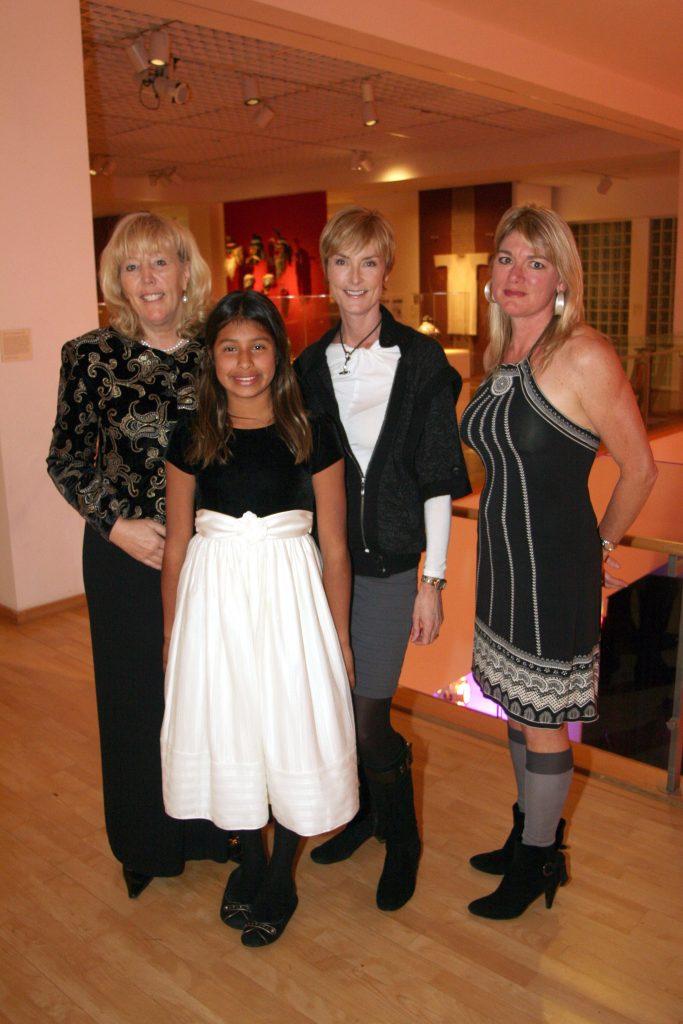 Mary and Natalie Collins with Sue Weisman and Heidi Schlageter.JPG