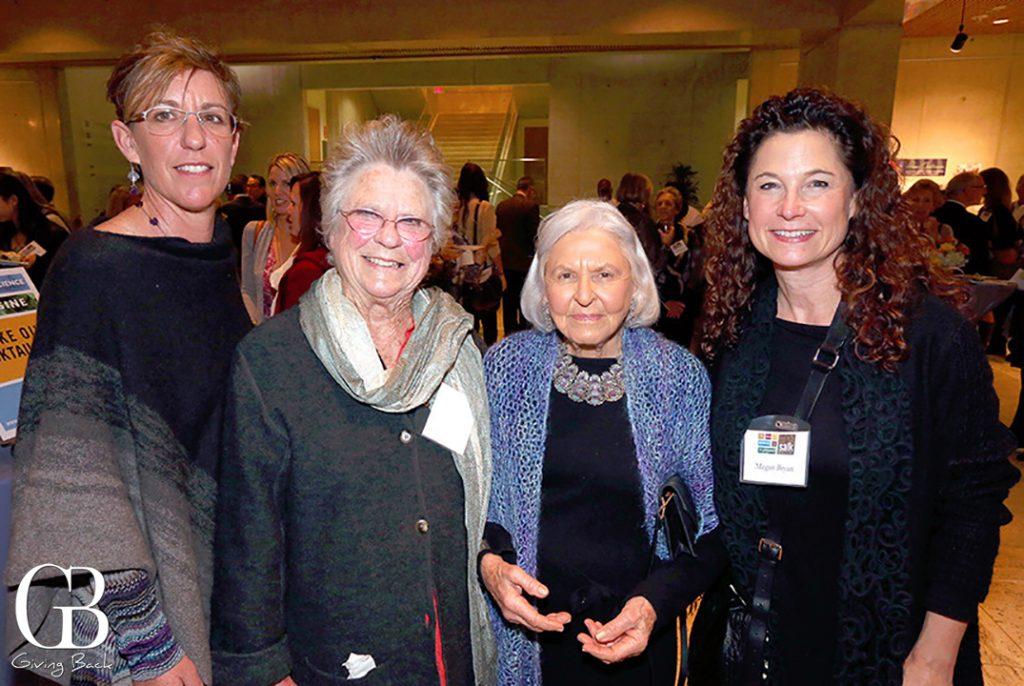 Mary Ann Beyster  Betty Beyster  Deborah Szekely and Megan Bryan