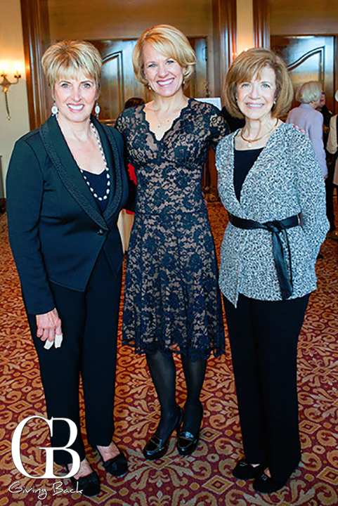 Mary Ann Bosamac  Kayleen Huffman and Rosalie Jerevas
