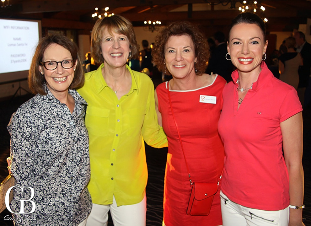 Mary Rose Mueller  Carol Tellez  Barbara Mandel and Eliza Friedman