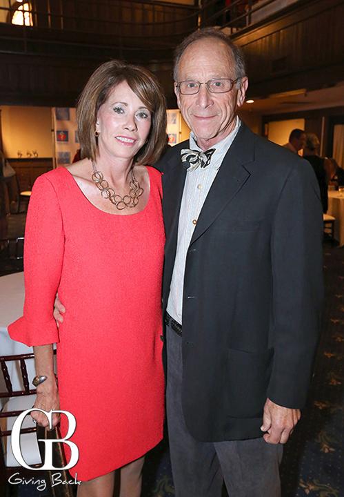 Mary Sikes and Harvey Shapiro
