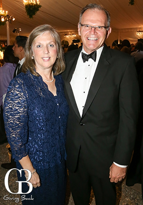 Mary and President James T. Harris