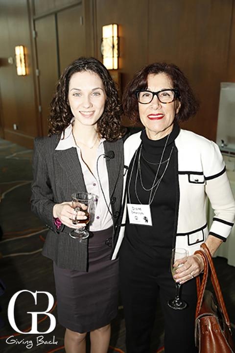 Masha Shumyatsky and Diane Benaroya