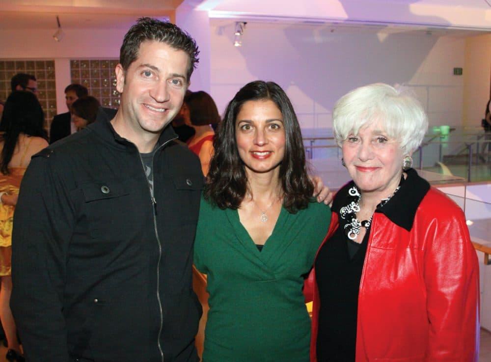 Mathew and April Fink with Joyce Axelrod.JPG