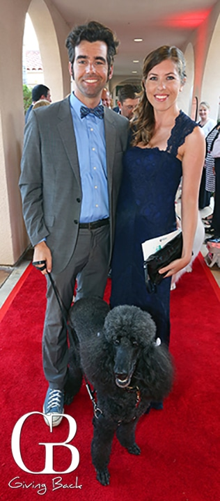 Matt Lescault Wood and Brooke Haggerty with Gaby