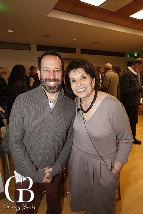 Matt Rattner and Marie Raftery