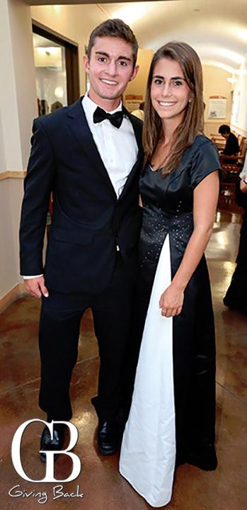 Matt Watson and Jessica Nichols