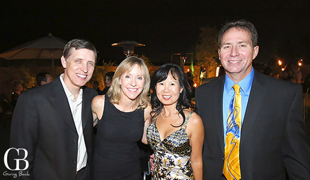 Matt and Kriste Dukleth with Molly Pak and Greg Lyon