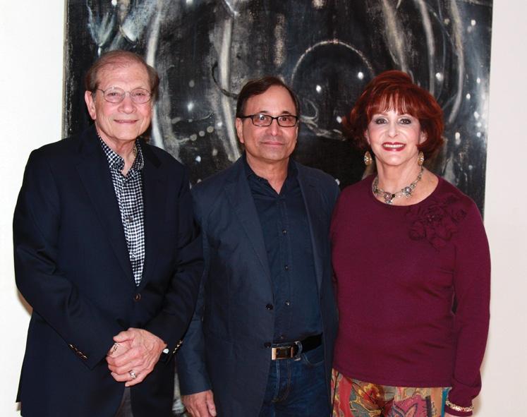 Matthew Strauss, Ross Bleckner and Iris Strauss.JPG