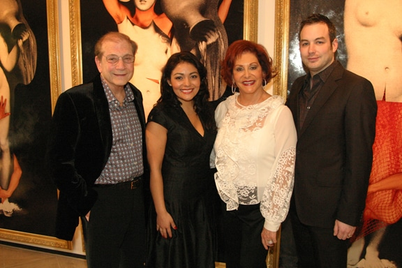 Matthew and Iris Strauss with Ailyn Perez and Stephen Costello.JPG