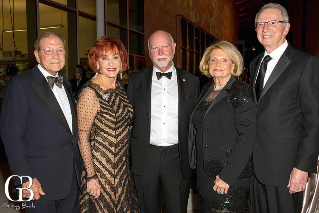 Matthew and Iris Strauss  Craig Venter  Joan and Irwin Jacobs
