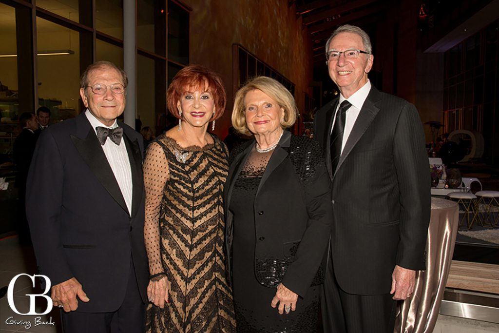 Matthew and Iris Strauss with Joan and Irwin Jacobs