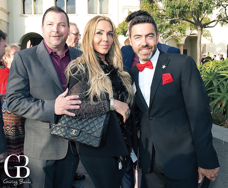 Matthew and Karina De Graan with Noyan Karakas