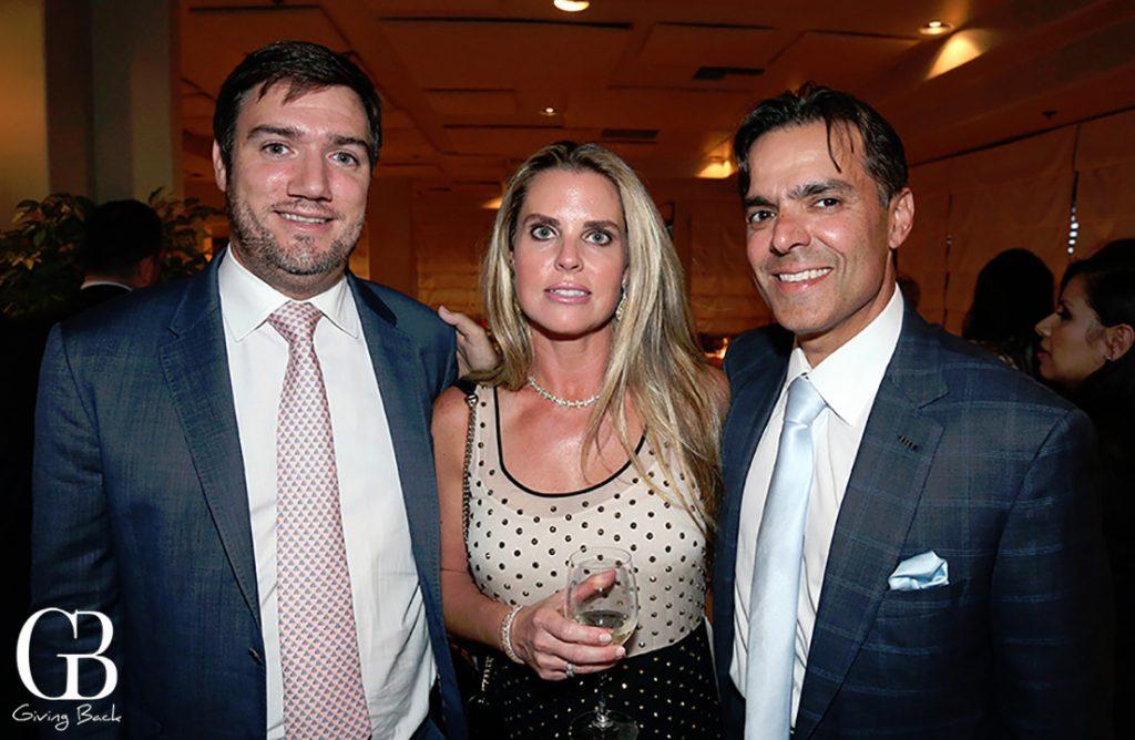 Matthieu Garnier with Kelli and Vahid Moradi