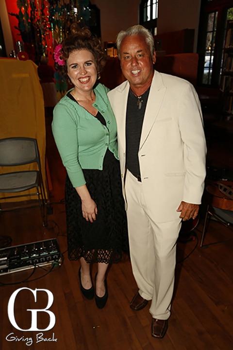 Maura Walters and Drew Baumann