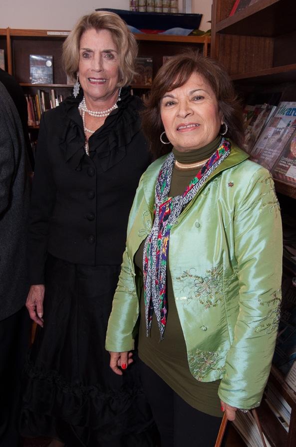 Maureen Buckley and Alice Brana
