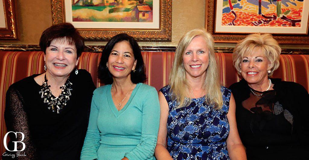 Maureen Sage  Dee Ammon  Paula Hodgetts and Just Ferrero