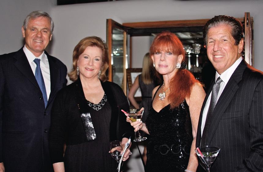 Maurizio Seracini, Carole Laventhol, Sandra Dorros and Dr. Stephen Dorros