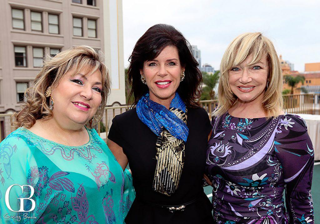 May Zawaideh  Patty Elkus and Linda Kerr