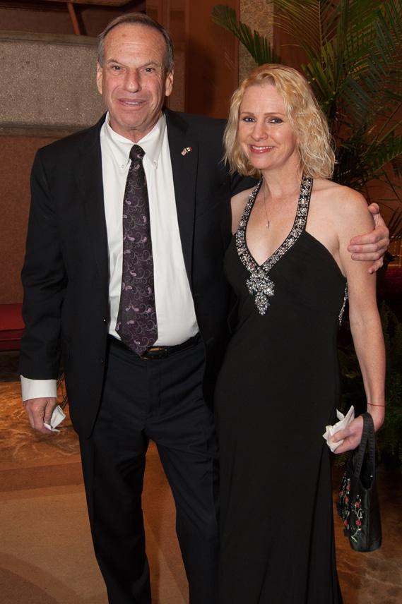 Mayor Bob Filner and Bronwyn Ingram