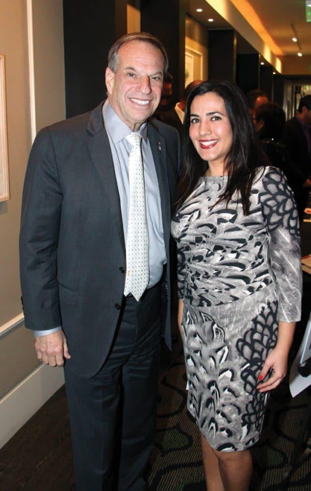 Mayor Bob Filner and Denice Garcia +.JPG